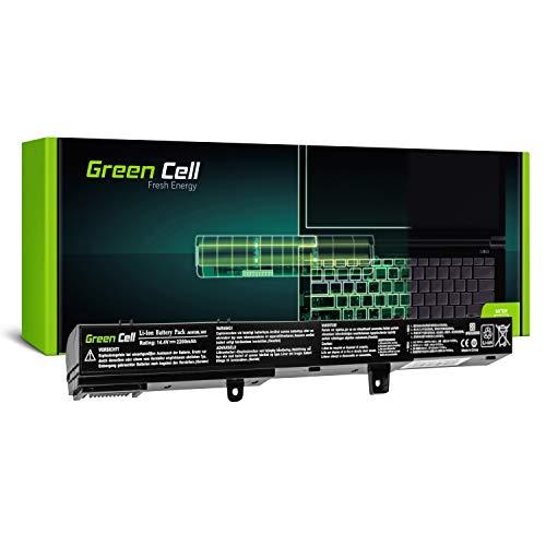 Green Cell® A41N1308 A31N1319 Laptop Akku für ASUS X551 X551C X551CA X551M X551MA X551MAV R512 R512C R512CA F551 F551C F551M D550 D550C D550CA (Green Cell Zellen, 2200mAh)