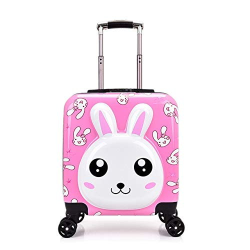 Mdsfe Kids Suitcase Children Trolley Suitcase wheeled for kids Rolling luggage suitcase girls Travel Luggage bags carry on trolley bag - 12.20'