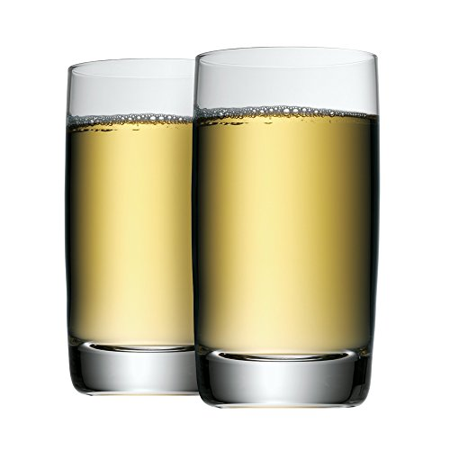 WMF Biergläser Saftgläser-Set zwei Stück Clever & More Kristallglas spülmaschinengeeignet