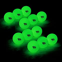 Glow-In-The-Dark Golf Balls (Rechargeable)
