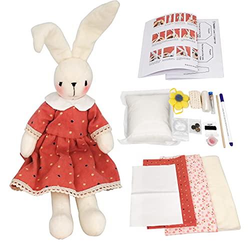 Kit per la creazione di bambole per adulti e bambini, kit fai da te per bambole in peluche, bambole di animali carini, regali per ragazze, kit artigianali per bambole