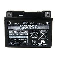 YUASAバッテリー YTZ5S (液入充電済) HONDA GROM/MSX125純正採用 GTZ5S/YTX4L-BS/GTX4L-BS/FTH4L-BS 等