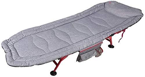 PARTAS Sonnen Daze Liegestühle, Klappbett Klappstuhl Heimeinzel Lunch Bett Aluminium-Halterung Büro Mittagspause Stuhl Beweglicher Nap Sonnenliege, mit Anti-Rutsch-Füße