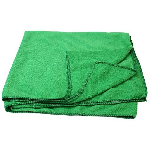 Mdsfe 70 * 140cm Toallas absorbentes Finas Green Bath Beach Sport Toallas absorbentes Viajes Deporte Gimnasio Secado Camping Traje de baño Ducha - Verde