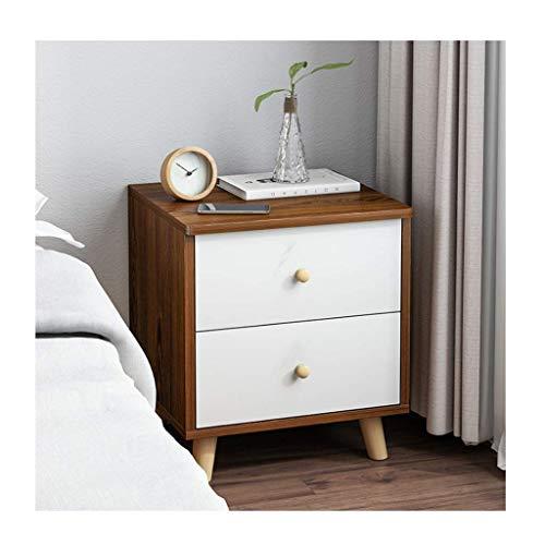 Soul hill nachtkastje houten nachtkastje met lade organisator afneembare montage nachtkastje slaapkamer meubilair eindtafels (kleur: B)