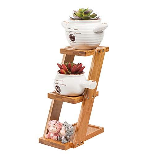 plank Bloem, plant, drie-tier, kleine beugel kan worden geplaatst op de tafel of vensterbank 18cm*9.2cm*25cm