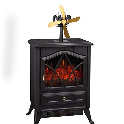 HHORD Cocina Completa Inicio Fan-Heat Powered Ventilador