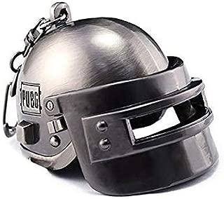 Mohema PUBG Level 3 Helmet Player's Battlegrounds Game Armor (Silver)