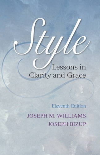 Style: Lessons in Clarity and Grace (11th Edition)