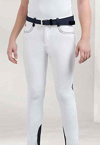 Equiline Pantalon d'équitation Enfant équitation modèle Luke Habillement Pantalon