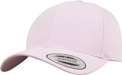 Flexfit Damen und Herren Baseball Caps Curved Classic Snapback Cap, Farbe Pink