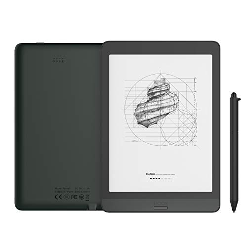 "BOOX Nova3 7.8"" E-book Tablet Android 10.0 Luce Frontale Integrata 32GB 300dpi HD OTG WiFi BT USB-C Nero"