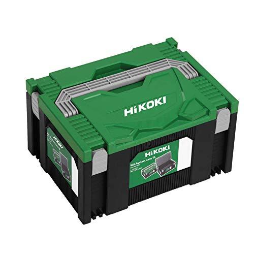 Hitachi HIT System Case III Hikoki Transportkoffer, 295x395x210 mm, Grün Schwarz