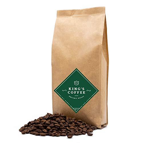 ORGANIC ROAST - feinster Bio Arabica-Robusta Kaffeebohnen-Blend | 1 kg | kleine Chargen-Röstung aus Italien | ganze Espressobohnen für Vollautomaten & Siebträger