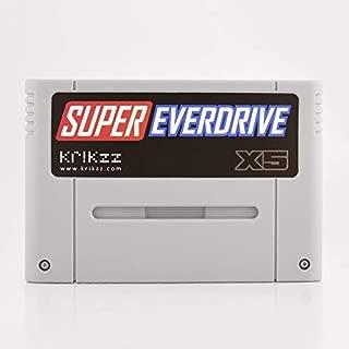 Super Everdrive X5 Flash Cart better than Super Everdrive V2 newest version by Krikzz.