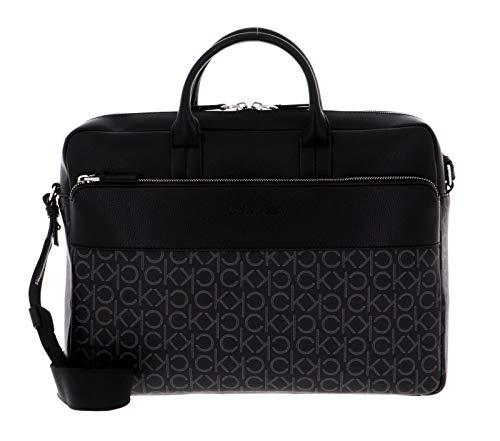 Calvin Klein Laptop Bag Black Mono Mix