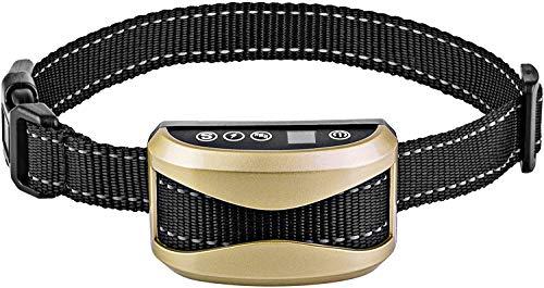 AKBQ Dog Bark Collar Antibarke-Kragen Mit 7 Empfindlichkeit, USB Aufladbare Wasserdicht Dog Bark Collar Mit Vibration Und Signalton Für Small Medium Große Hunde