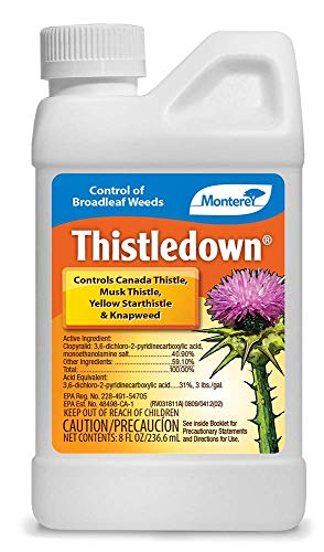 Monterey LG5482 Thistledown Weed Killer Thistle and Clover...