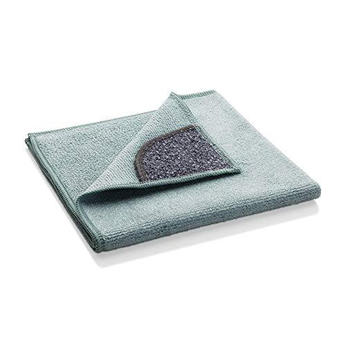 e-cloth - Panno per Pulizie Cucina, Spesso e igienico, Lavabile Fino a 300 Volte, 32 x 32 cm