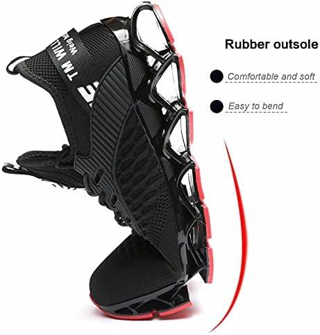 Kapsen Mens Running Shoes Air Cushion Tennis Walking Sneakers Casual Sport Gym Jogging