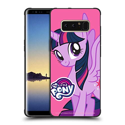 Head Case Designs Officially Licensed My Little Pony Twilight Sparkle Solo Character Art Shockproof Matte Black Case Compatible with Samsung Galaxy Note8 / Note 8