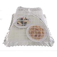 食卓カバー フードカバー キッチンパラソル 埃よけ 虫よけ 洗える 折り畳み式 簡単収納 キッチン用品 (42CM―C)