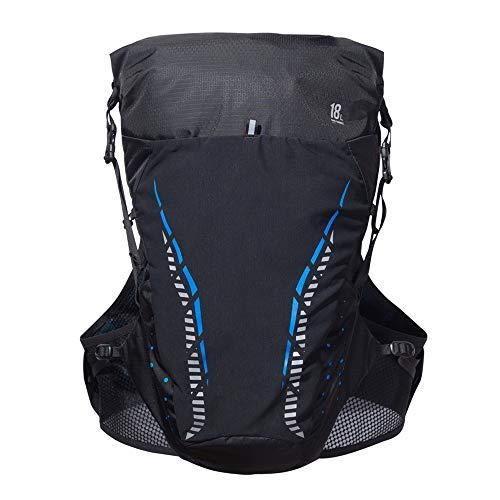 TRF Courir Course Vest, 18L Marathon Hydration Pack avec 3 Niveau d'eau Entrepôt - Système de Guidage d'air de Transport Strap- pour Run, randonnée pédestre et à vélo,S/M