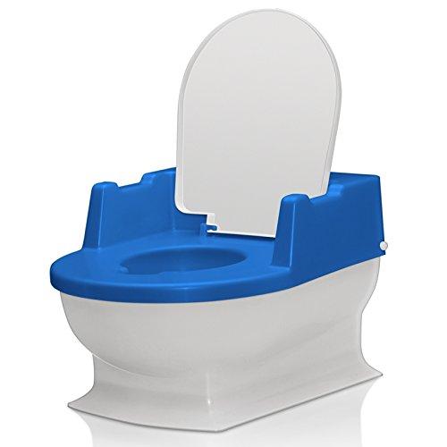 SitzFritz Kinder-Toilette, Töpfchen und Toilettentrainer, perlmarine