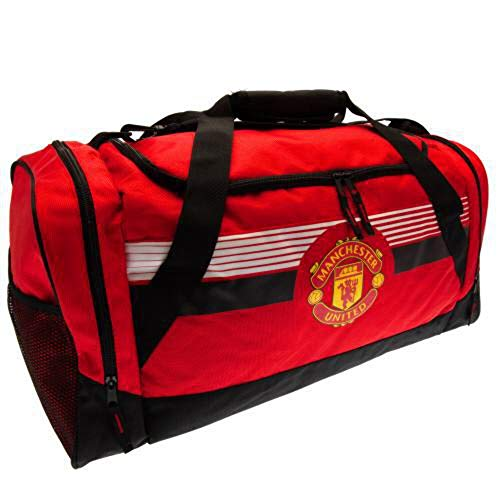 Manchester United FC Holdall Ultra (One Size) (Red/Black)