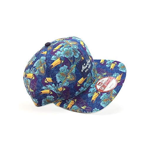 Casquette New Era – New 9fifty Tropicale Bleu S/M