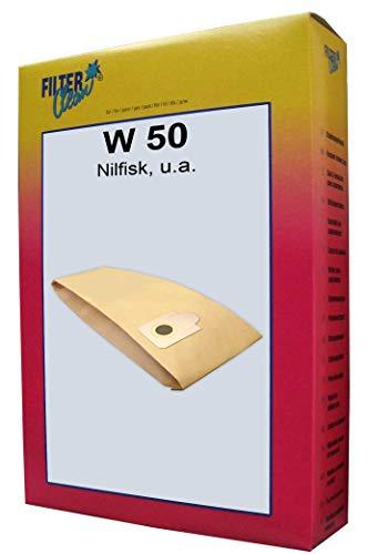 FilterClean W 50 Staubsaugerbeutel, braun