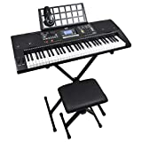 Best Electronic Keyboards - Axus AXP2PK 61 Key Beginner Touch Sensitive Electronic Review
