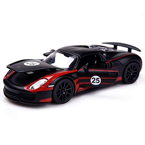 Modelo de coche, 1:32 modelo de coche simulación de aleación fundido a troquel de juguete adornos de coche colección de joyas de 14 x 6 x 4 cm (color: 25)