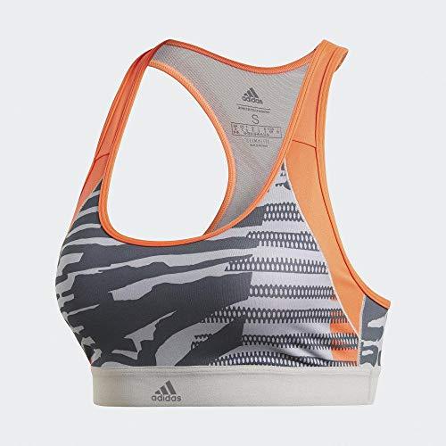 adidas Drst Ai Q3 Sport-BH, Damen M Grpumg/Print
