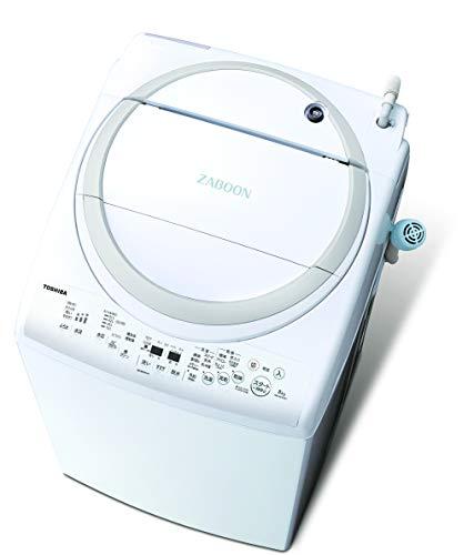 東芝 洗濯乾燥機 洗濯8.0kg 乾燥4.5kg 温かザブーン洗浄 AW-8V9-W グランホワイト