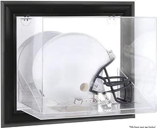 Northwestern Wildcats Framed Wall Mounted Logo Helmet Display Case