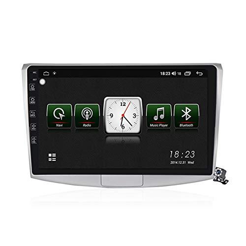 Gokiu Android 10 GPS Navegación del Coche Estéreo para VW Passat B7 CC Magotan 2010-2015 con 10,1 Pulgada Táctil Soporte Split Screen/FM RDS Radio/Control del Volante/Carplay Android Auto,7731