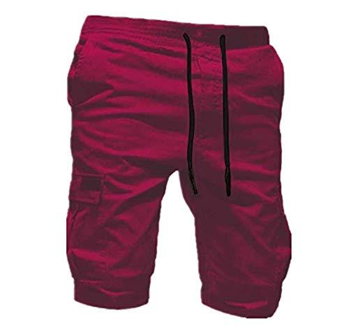 Hniunew Hosen Fritid män chicago kort enfärgad tröja kort spets guysinsweatpants joggare byxor jeans lös ansökan jeans shorts badsort cargo shorts leggings päls smala band