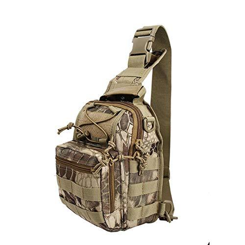 BAPDSB Tactique Molle EDC Organisateur Combat Bas Profil Sac Chasse Militaire Paintball Magazine Pouch en Plein Air Hommes Épaule Sac À Dos
