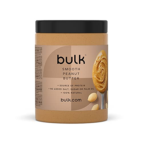 Bulk Beurre de Cacahuète, Doux, 1 kg, l'Emballage Peut Varier