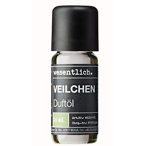 Wesentlich. Huile parfumée Violette – Huile aromatique pour lampe aromatique et diffuseur – Parfum d'ambiance de qualité supérieure (10 ml)