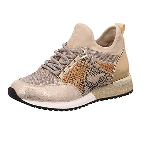 La Strada 1900356 Sneaker Cracked Gold 38
