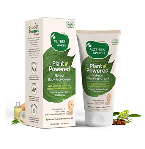 MotherSparsh Plant Powdered Natural Baby Face Cream
