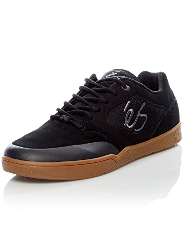 ES Herren Swift 1.5 Skate-Schuh, Schwarz - Schwarz/Gum - Größe: 44 EU (M)