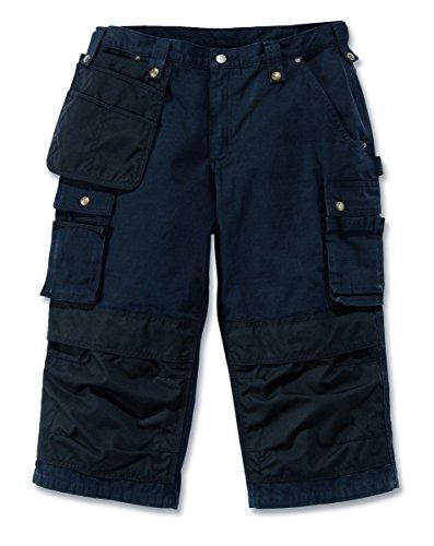 Carhartt .100455.001.S538 Ripstop-Hose mit Mehreren Taschen, Größe W38, Schwarz