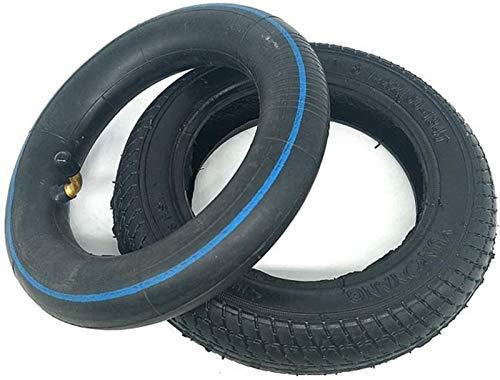 aipipl Neumáticos de Scooter eléctrico, neumáticos Exteriores Interiores inflables de 8 1 / 2X2, Goma Antideslizante Resistente al Desgaste, para reemplazo de neumáticos de Cochecito/Cochecito de