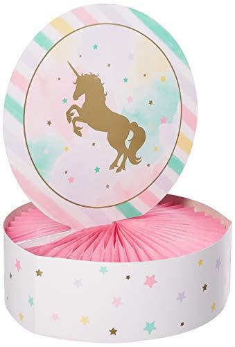 Creative Party Unicorn Sparkle Centerpiece