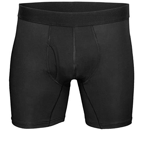 SWEAT-SAFE COMPANY® Anti-Schweiß Boxer-Shorts mit Schutz gegen Schweißflecken - Antibakteriell - Bei Hyperhidrose - Funktions-Unterhose Herren