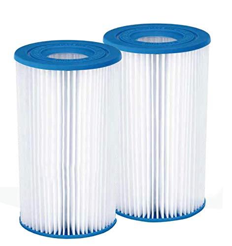 Summer Waves Pool Papierfilter 10er Pack Filter Kartuschen Kartuschenfilter Papier Typ A/C