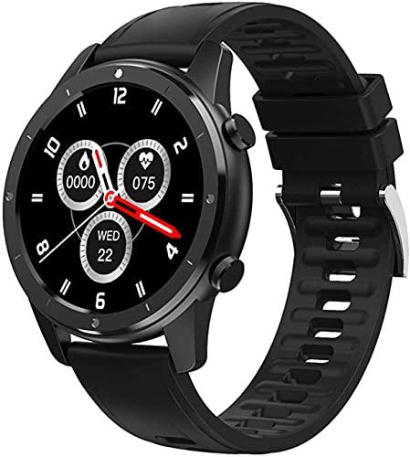 X&Z-XAOY Reloj Inteligente para Los Hombres Rastreador De Actividad con Pantalla Táctil Completa De 1.3'TFT Monitor De Pulso Cardiaco Fitness Deporte Smartwatch Impermeable con Sleep Tracker